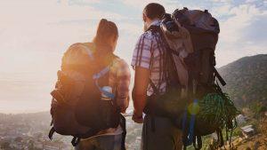 Waterproof backpack travel