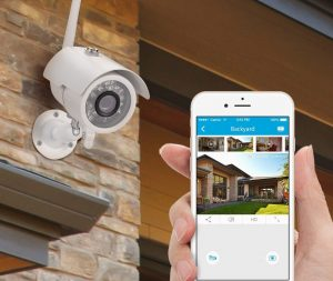 Best Outdoor Wireless Security Camera System with DVR and Monitor
